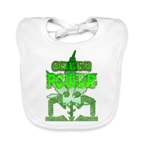Green Power - Bavoir bio Bébé