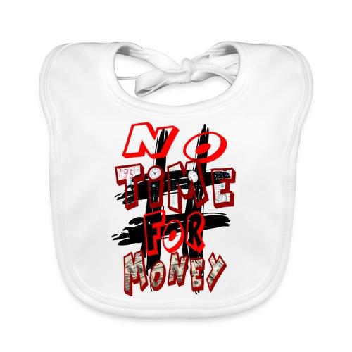 H-Tag No Time For Money - Bavoir bio Bébé