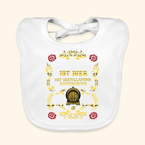 Whiskey ist Bier - Baby Bio-Lätzchen