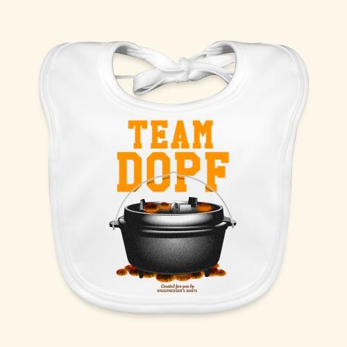 Dutch Oven T-Shirt Team Dopf - Baby Bio-Lätzchen