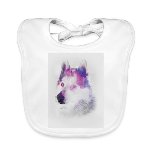 Pies husky - Ekologiczny śliniaczek