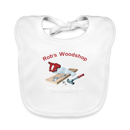 Rob's Woodshop shirt - Organic Baby Bibs