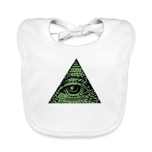 Iluminati - Bavoir bio Bébé
