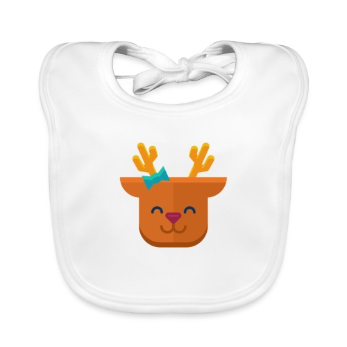 When Deers Smile by EmilyLife® - Baby Organic Bib
