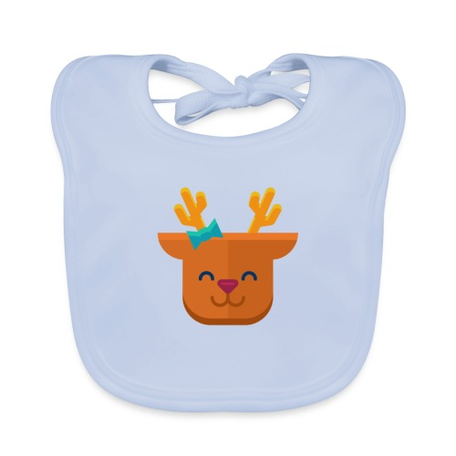 When Deers Smile by EmilyLife® - Baby Organic Bib