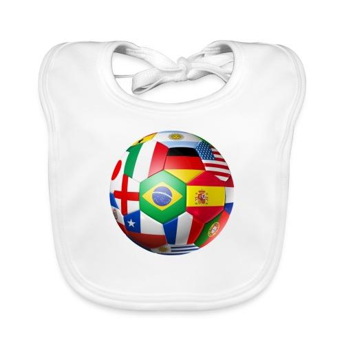 Brasil Bola - Organic Baby Bibs