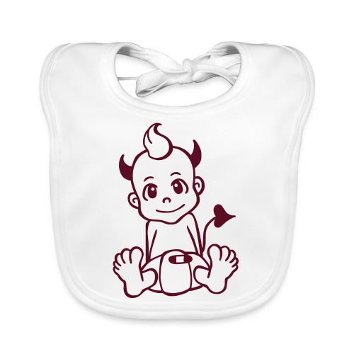 Kleiner Teufel - Baby Bio-Lätzchen