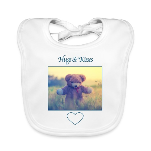 Hugs & Kisses: Phone Case - Organic Baby Bibs