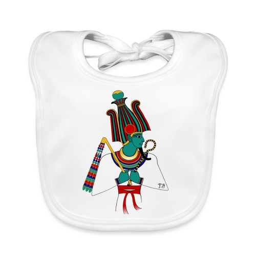 Osiris I altägyptische Gottheit - Baby Bio-Lätzchen