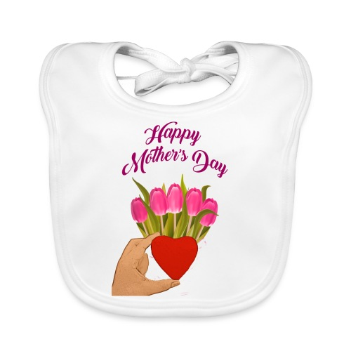 Happy Mothers Day - Organic Baby Bibs