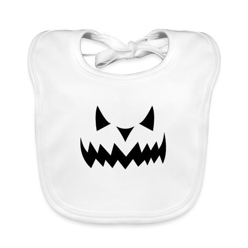 Halloween Face - Baby Bio-Lätzchen