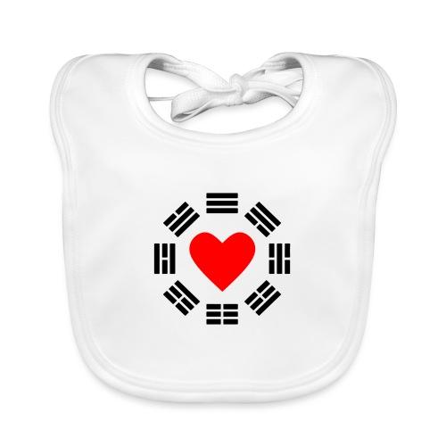 Trigram Heart - Baby Bio-Lätzchen