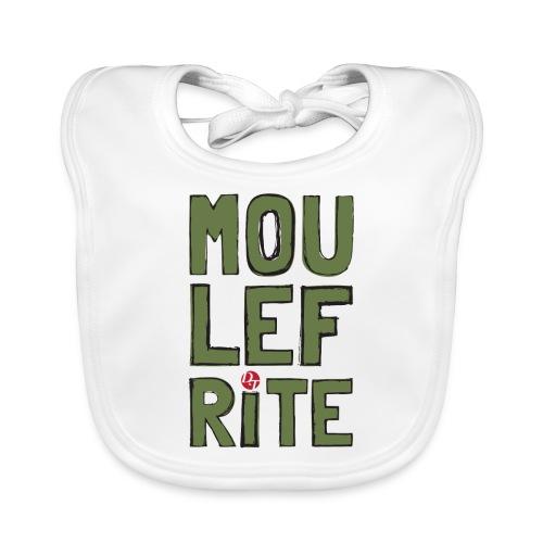 dt moulefrite folk sketchsolid towertee - Bavoir bio Bébé