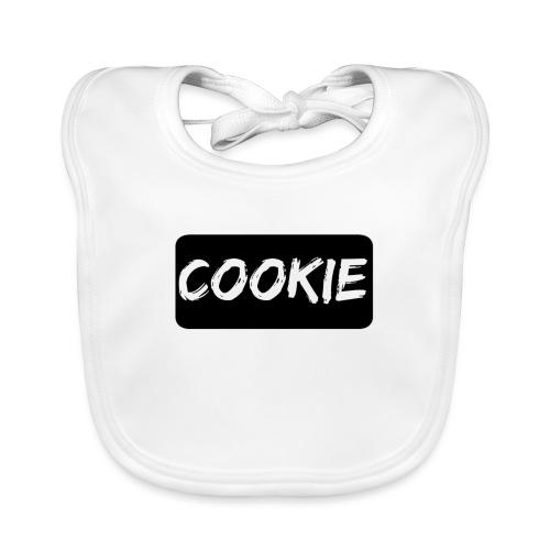 Negro de la galleta - Babero de algodón orgánico para bebés
