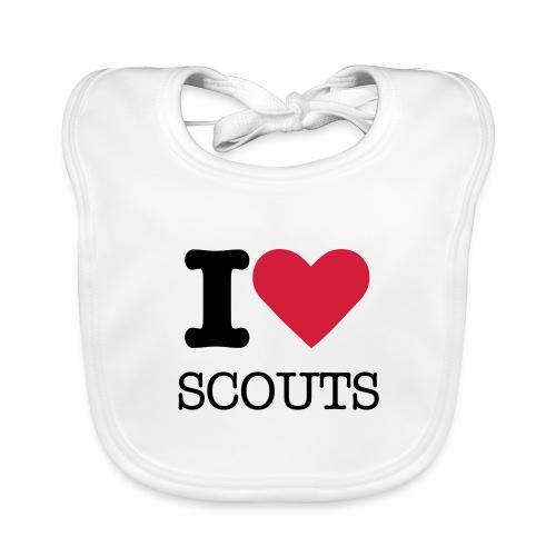 i love scouts - Bavoir bio Bébé