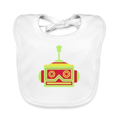 Robot head - Baby Organic Bib
