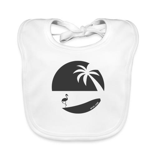 Logo French Floridian noir - Bavoir bio Bébé