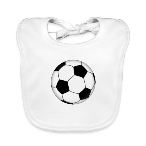 voetbal - Bio-slabbetje voor baby's