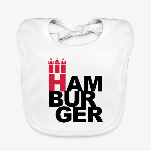 HAMBURGER 2c Hamburg Wappen - Baby Bio-Lätzchen
