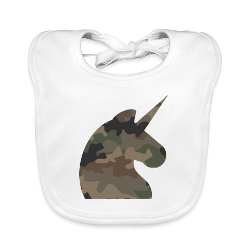 Einhorn T Shirt Männer Camouflage Army Style - Baby Bio-Lätzchen