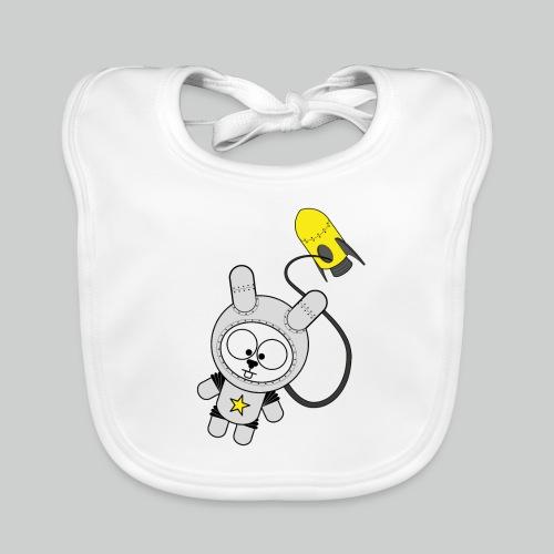 Space Bunny - Baby Bio-Lätzchen