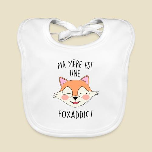 FoxAddict - Bavoir bio Bébé