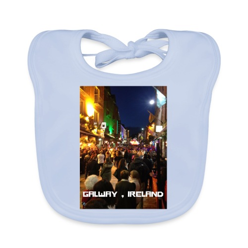 GALWAY IRELAND SHOP STREET - Baby Organic Bib