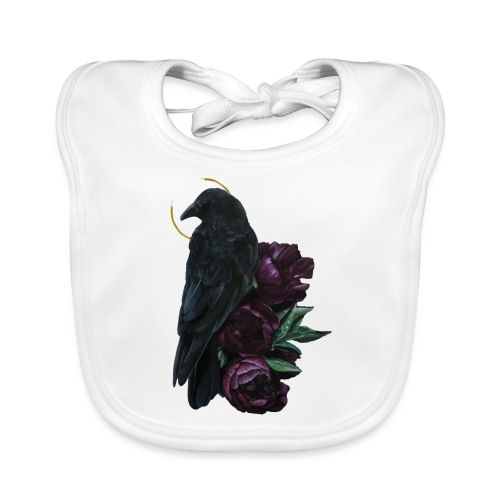 crow and flowers - Bavaglino