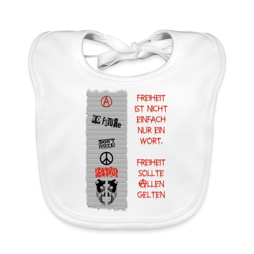 FREIHEIT - Baby Bio-Lätzchen