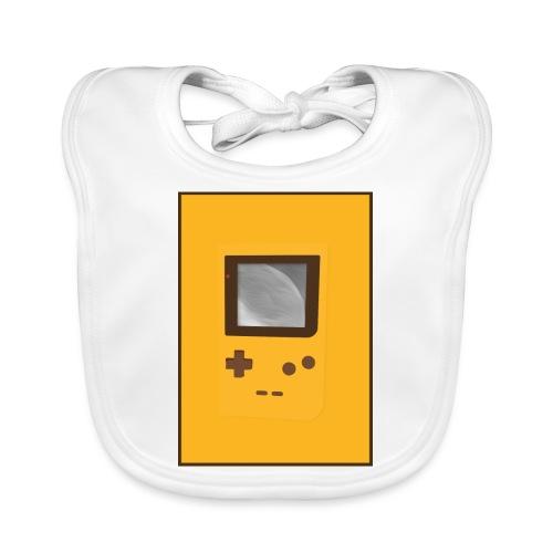 Game Boy Nostalgi - Laurids B Design - Baby økologisk hagesmæk