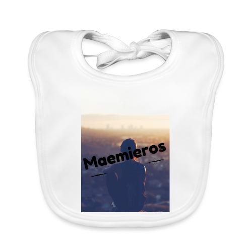 garciavlogs - Babero de algodón orgánico para bebés