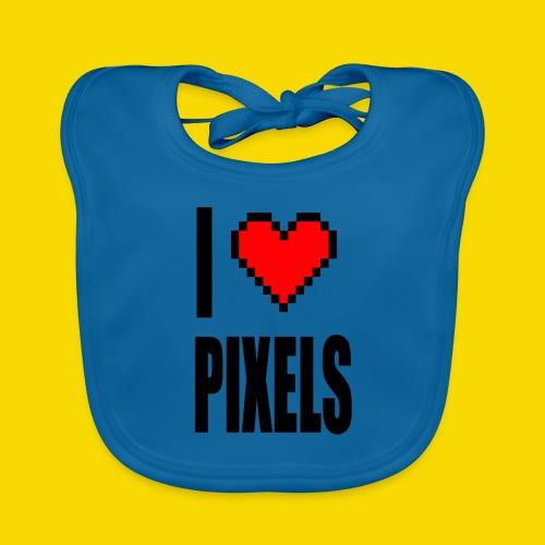 I Love Pixels - Ekologiczny śliniaczek