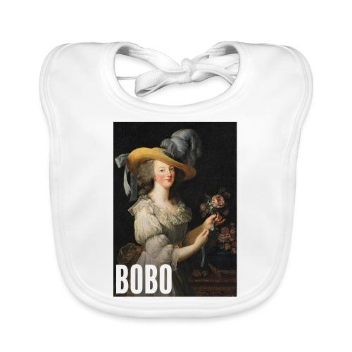 Marie Antoinette en mode bobo - Bavoir bio Bébé