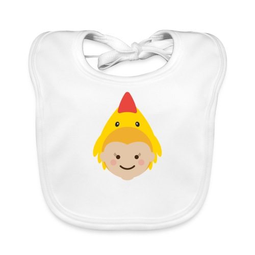 Lola the Chicken   Ibbleobble - Baby Organic Bib