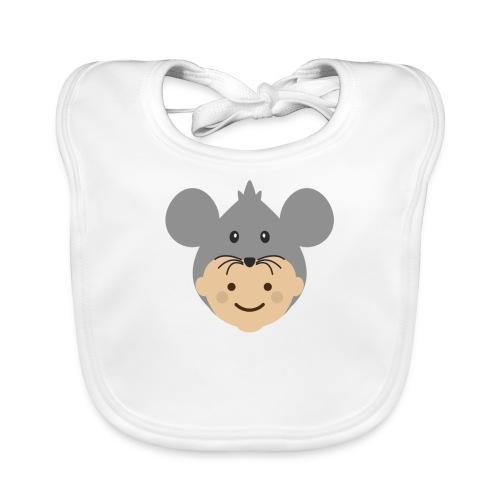 Mr Mousey | Ibbleobble - Organic Baby Bibs