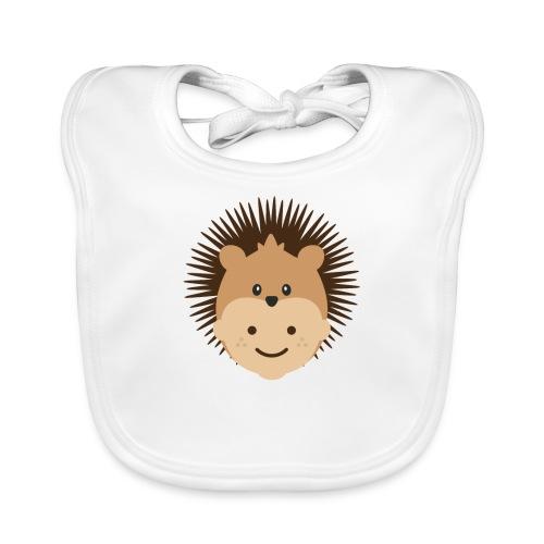 Fin the Hedgehog   Ibbleobble - Baby Organic Bib