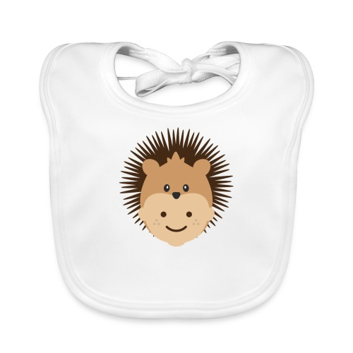 Fin the Hedgehog | Ibbleobble - Organic Baby Bibs