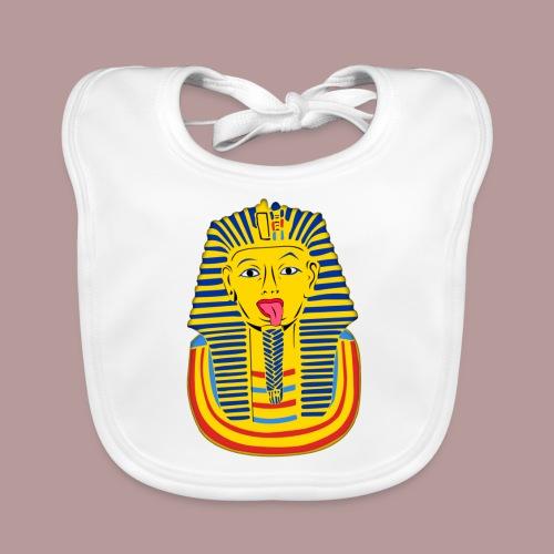 Pharaon a la langue bien pendue - Bavoir bio Bébé