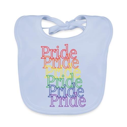 Pride   Regenbogen   LGBT - Baby Bio-Lätzchen