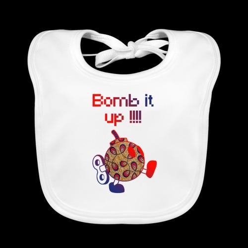 Bomb It Up : Red Power !!! - Bavoir bio Bébé