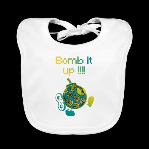 Bomb It Up : Green Power !!! - Bavoir bio Bébé