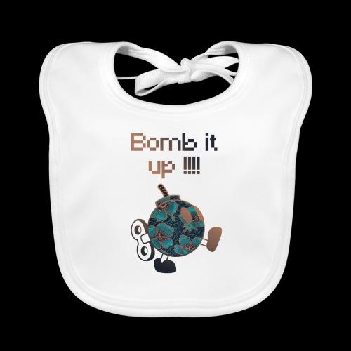 Bomb It Up : Bronze Power !!! - Bavoir bio Bébé