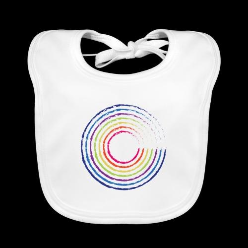 Circle rainbow - Baby Organic Bib
