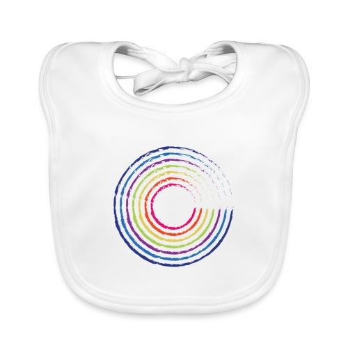 Cirkel regnbue - Hagesmække af økologisk bomuld