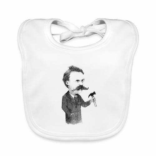 Friedrich Nietzsche - Babero de algodón orgánico para bebés
