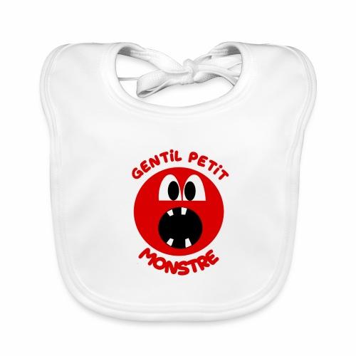 Gentil Petit Monstre - Bavoir bio Bébé