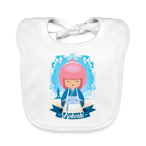 Kokeshi mod.4 - Bavaglino ecologico per neonato