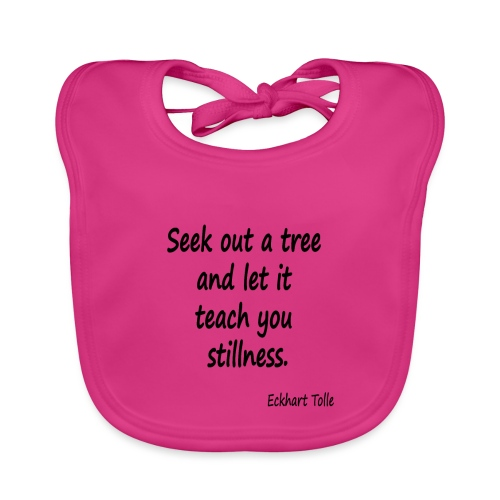 Tree for Stillness - Baby Organic Bib