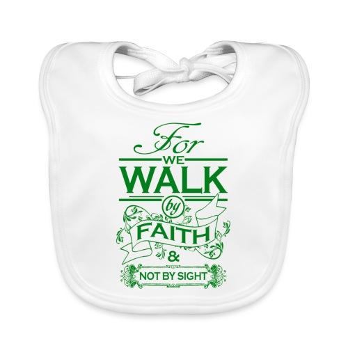 walk green - Baby Organic Bib