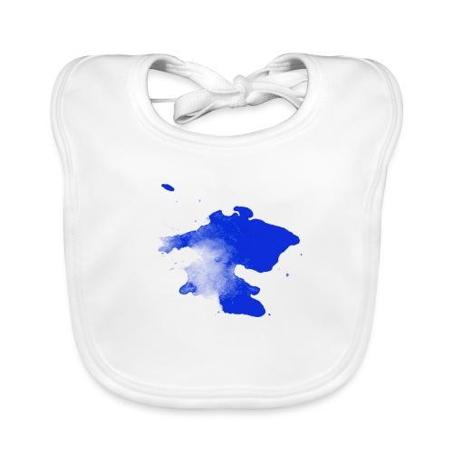 ink splatter - Baby Organic Bib
